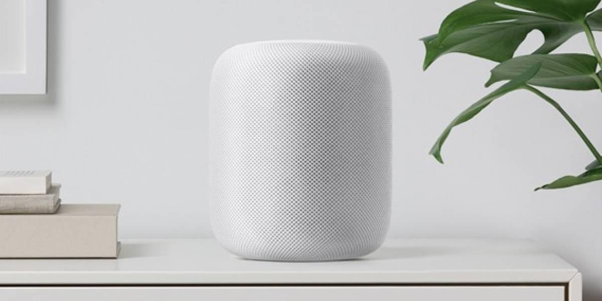 Apple presenta bocina inteligente accionada por Siri