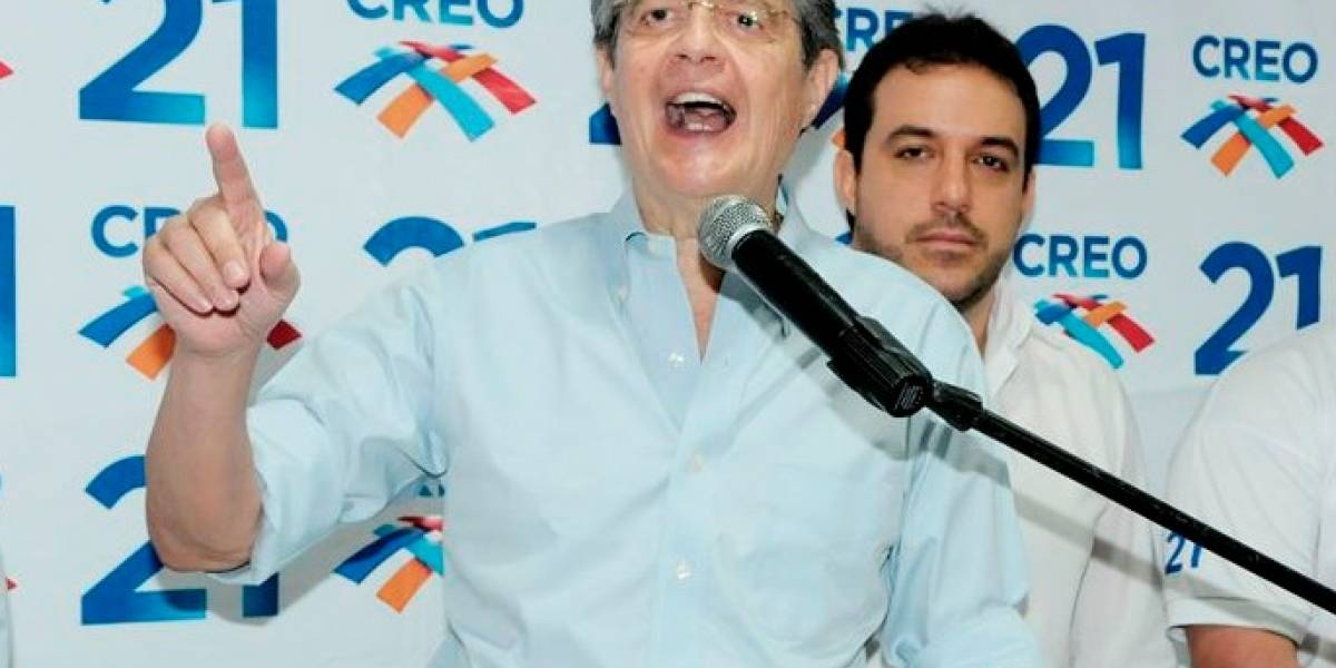 Guillermo Lasso será candidato presidencial en 2021