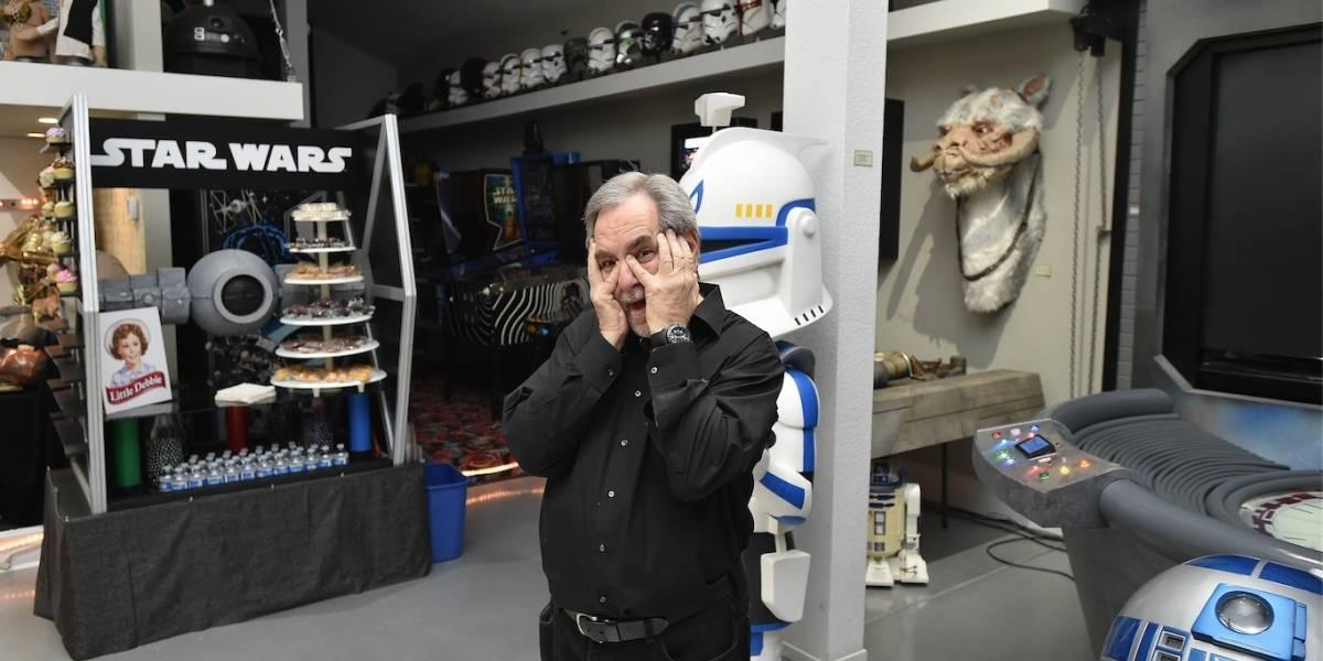 """Roban parte de la mayor colección de objetos de la """"Guerra de las Galaxias"""""""