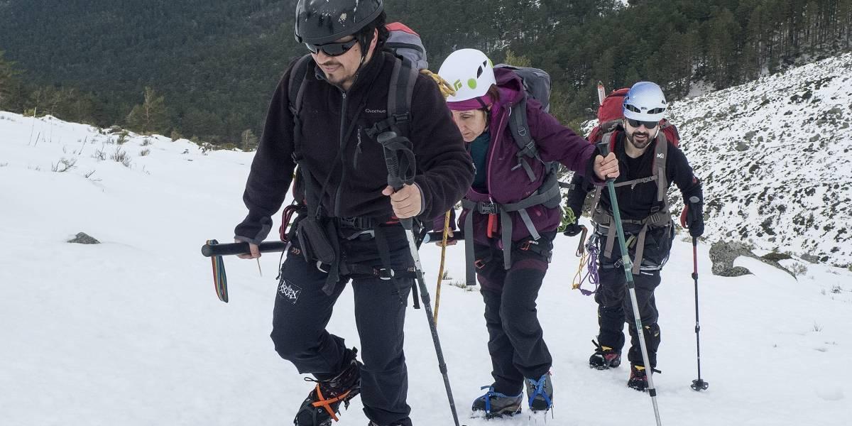 Christian Rodríguez, montañista guatemalteco que apoya a no videntes a escalar