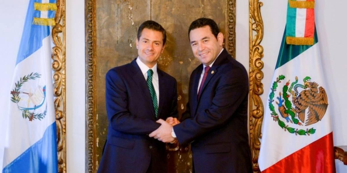 México y Guatemala viven momento decisivo para crear una zona más próspera: Peña Nieto