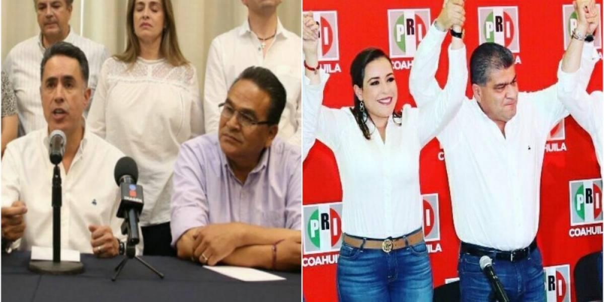 Programan a la misma hora festejo del PRI y marcha del PAN en Coahuila