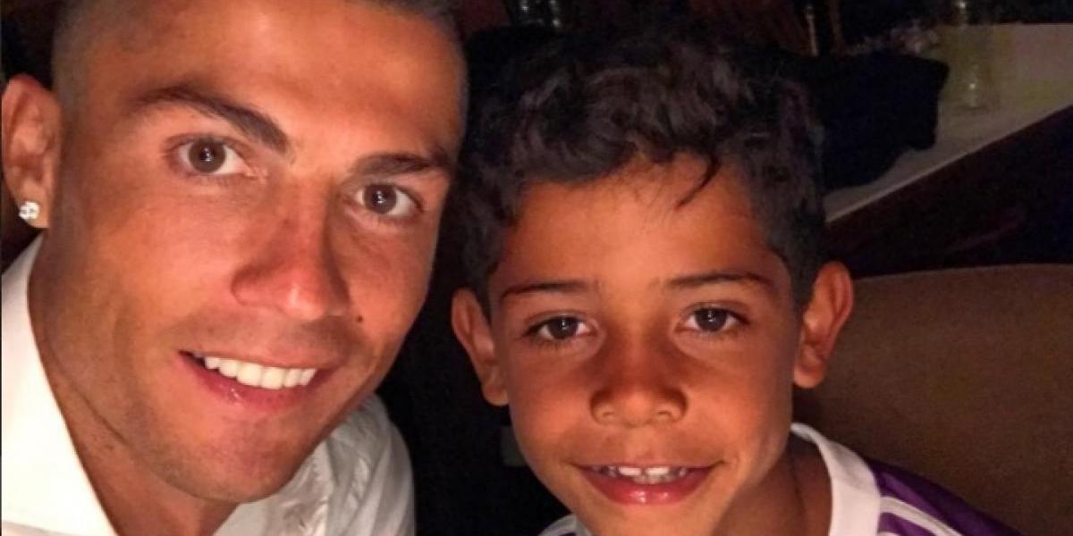 VIDEO. Cristiano Jr. enorgullece a su padre con tremenda jugada y dos títulos