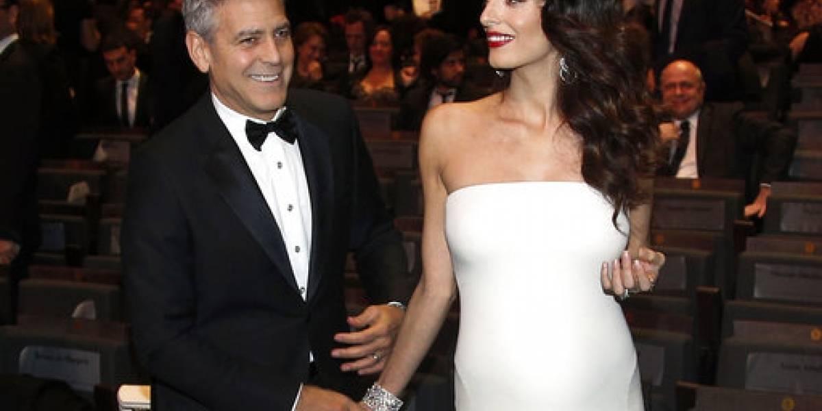 Nacen gemelos de George Clooney