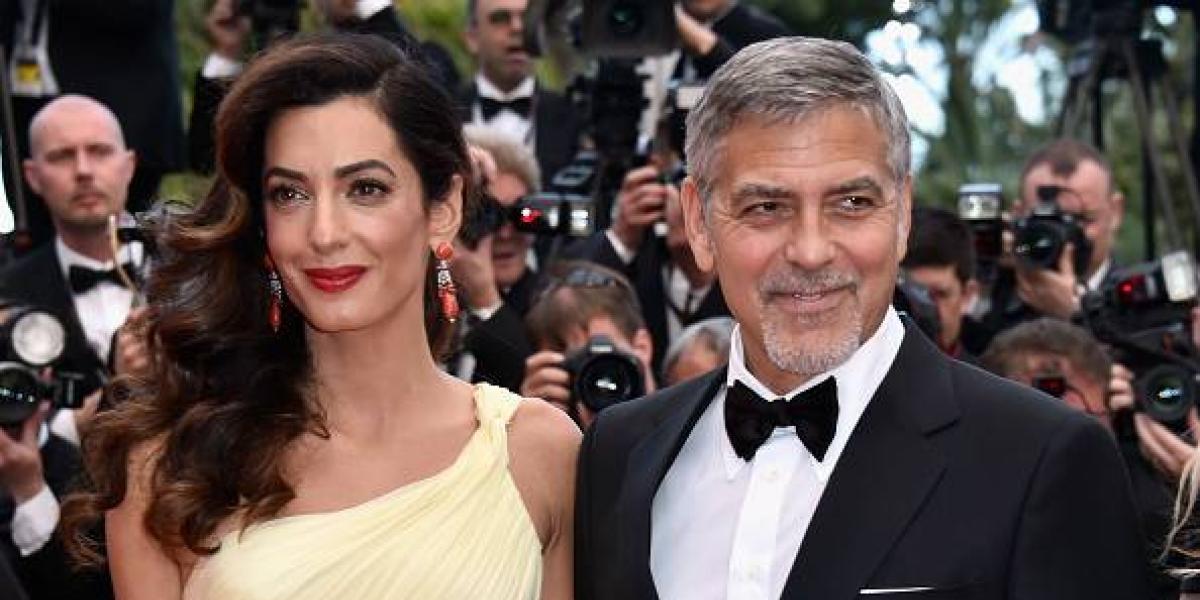 Ya nacieron los gemelos de George Clooney y Amal Alamuddin