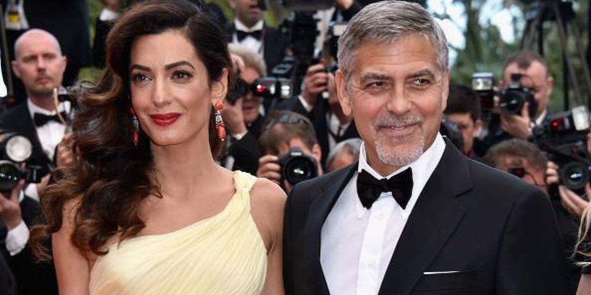 George Clooney dona 100 mil dólares para ayudar a niños migrantes