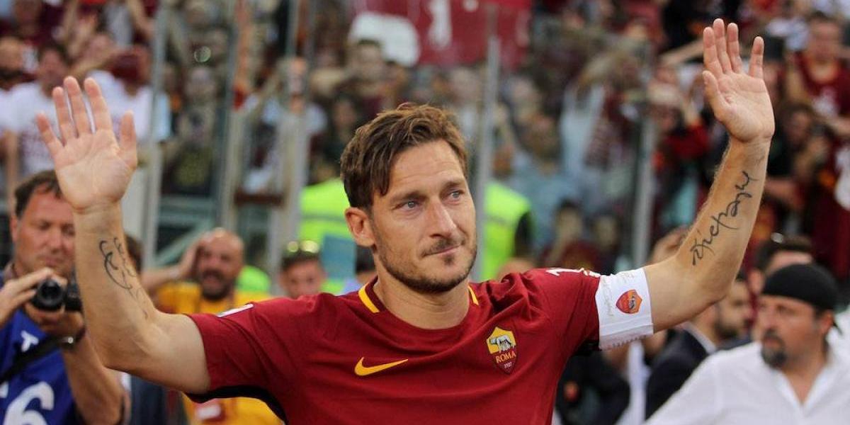 Totti niega que se haya retirado del futbol