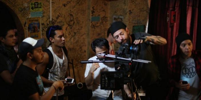 Grabación de video cantante guatemalteca