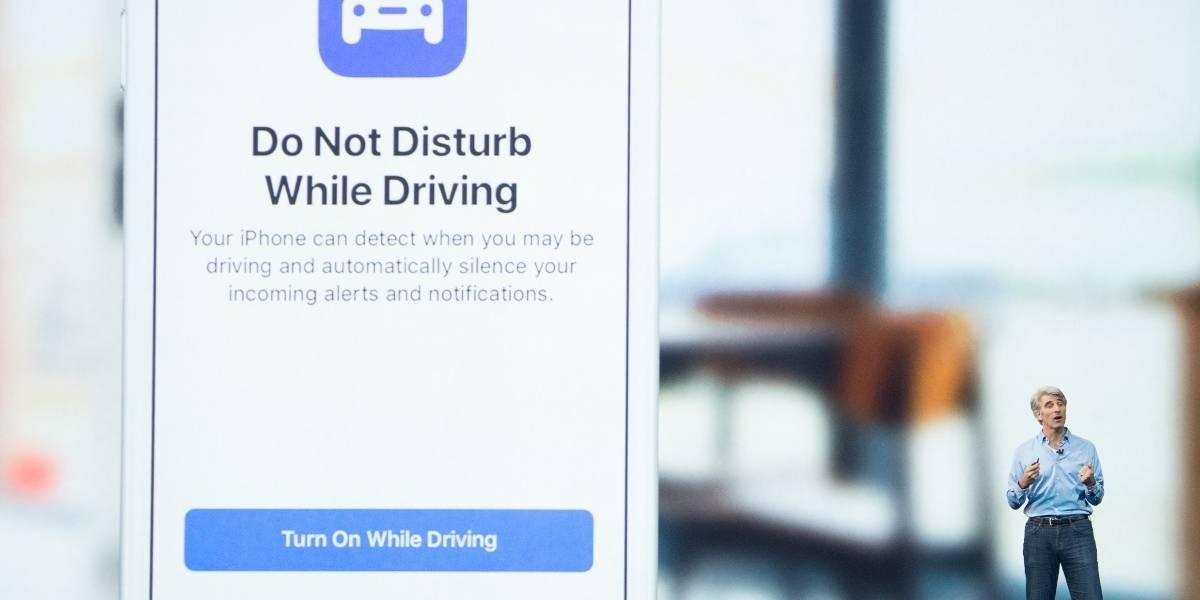 """""""No molestar mientras se conduce"""", el nuevo modo de iOS 11"""