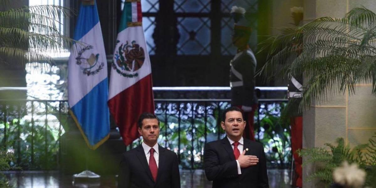 Presidentes Morales y Peña Nieto le apuestan a modernizar fronteras