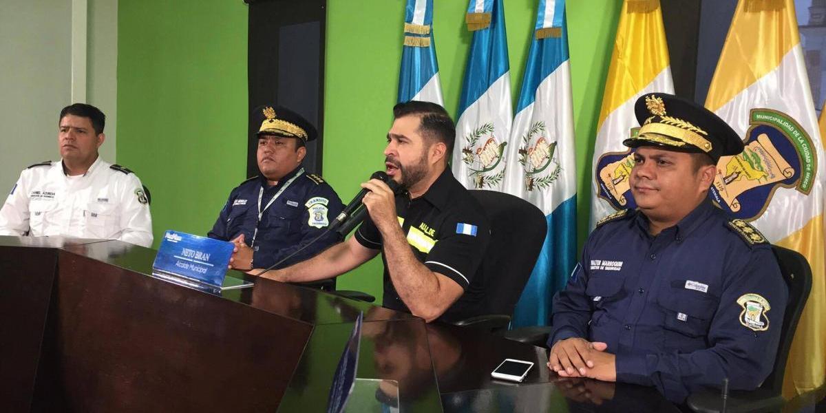 Alcalde Neto Bran anuncia creación de Policía de Seguridad Ciudadana de Mixco