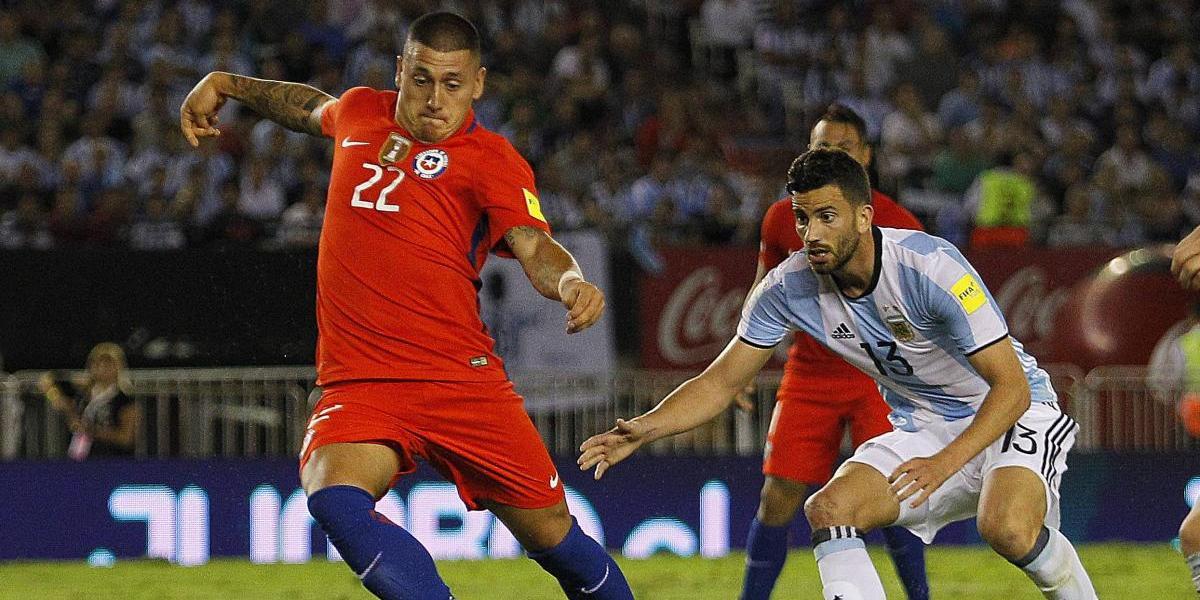 """La seguridad de Nicolás Castillo: """"Tengo mucha confianza en que puedo ser el '9' de la Roja"""""""
