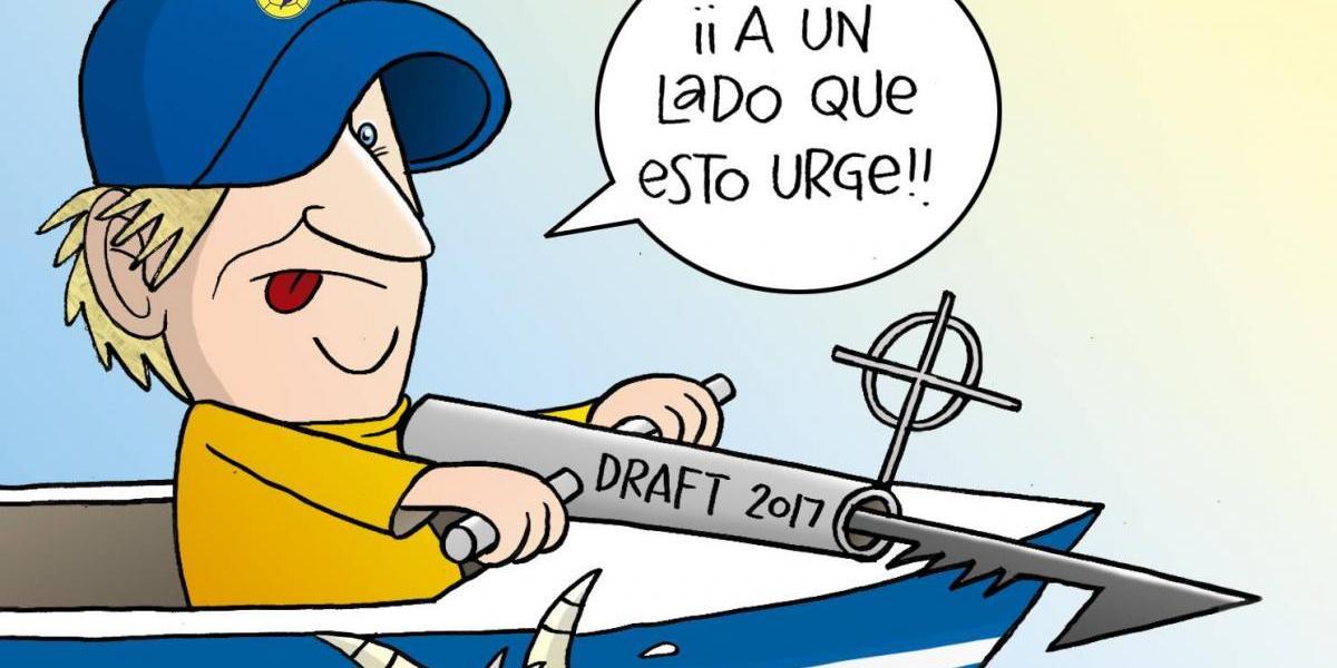 """""""Piojo"""" Herrera y América buscan """"peces gordos"""" en el Draft; el cartón del día"""