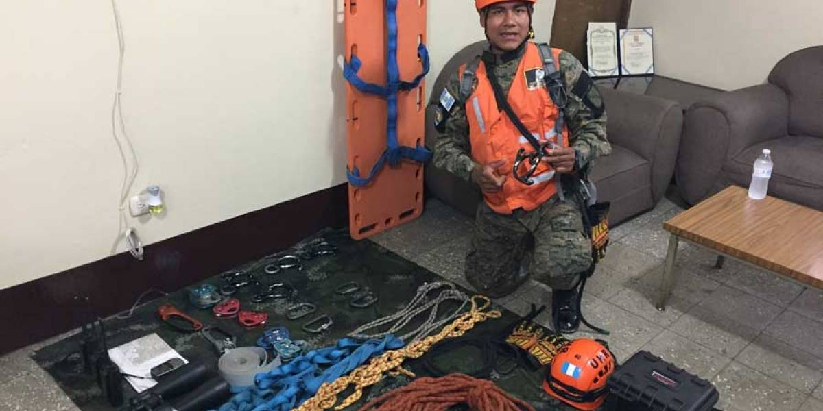Así rescataron a Julio Alvarado, sobreviviente de choque de avioneta