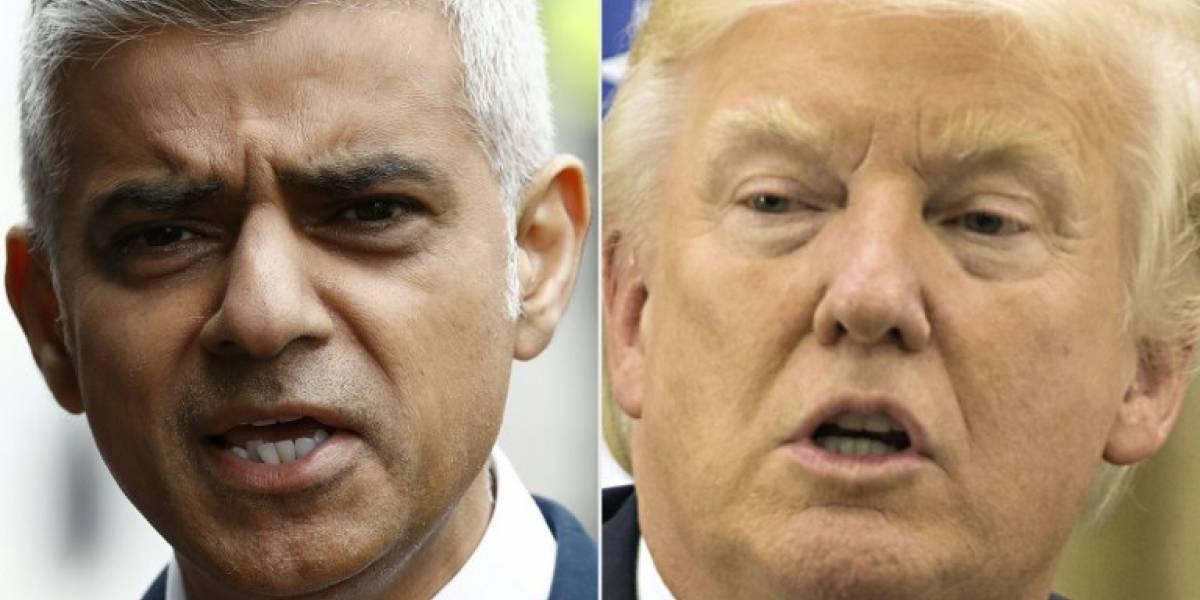 Alcalde de Londres envía un duro mensaje a Donald Trump