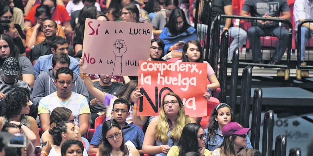 Con fecha la Asamblea Nacional de Estudiantes UPR