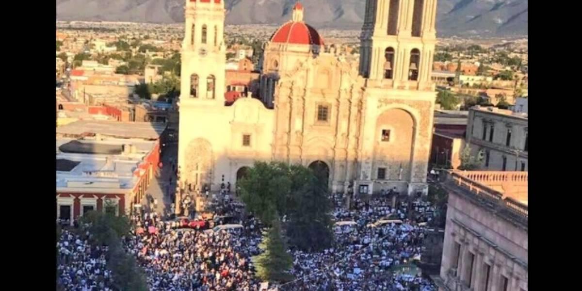 Marchan 60 mil personas en Coahuila contra resultados electorales