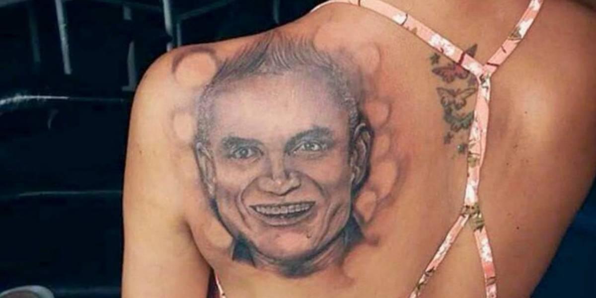 Critican en redes a seguidora que se realizó un tatuaje de Silvestre Dangond