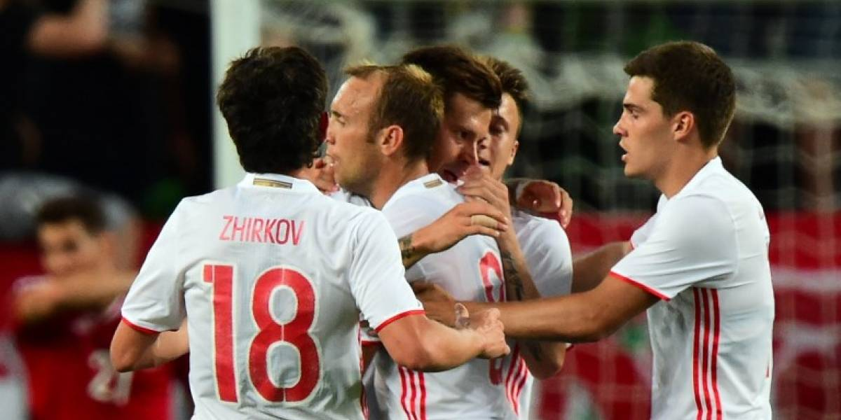 Rusia definió su nómina para la Copa Confederaciones con 23 jugadores de la liga local