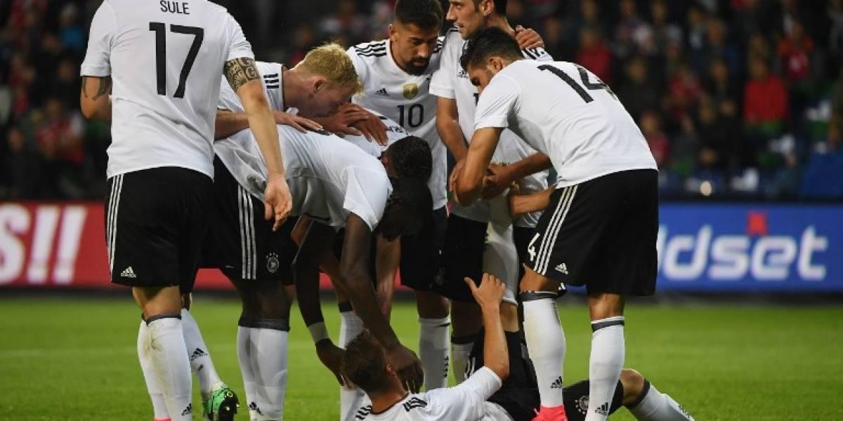 Alemania cita 22 jugadores a la Confederaciones y definió al capitán de su juvenil nómina
