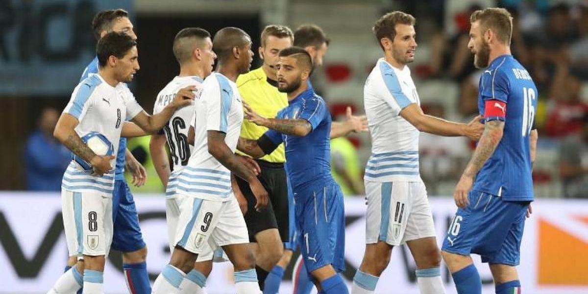 Uruguay perdió en amistoso ante Italia y sólo suma derrotas en 2017