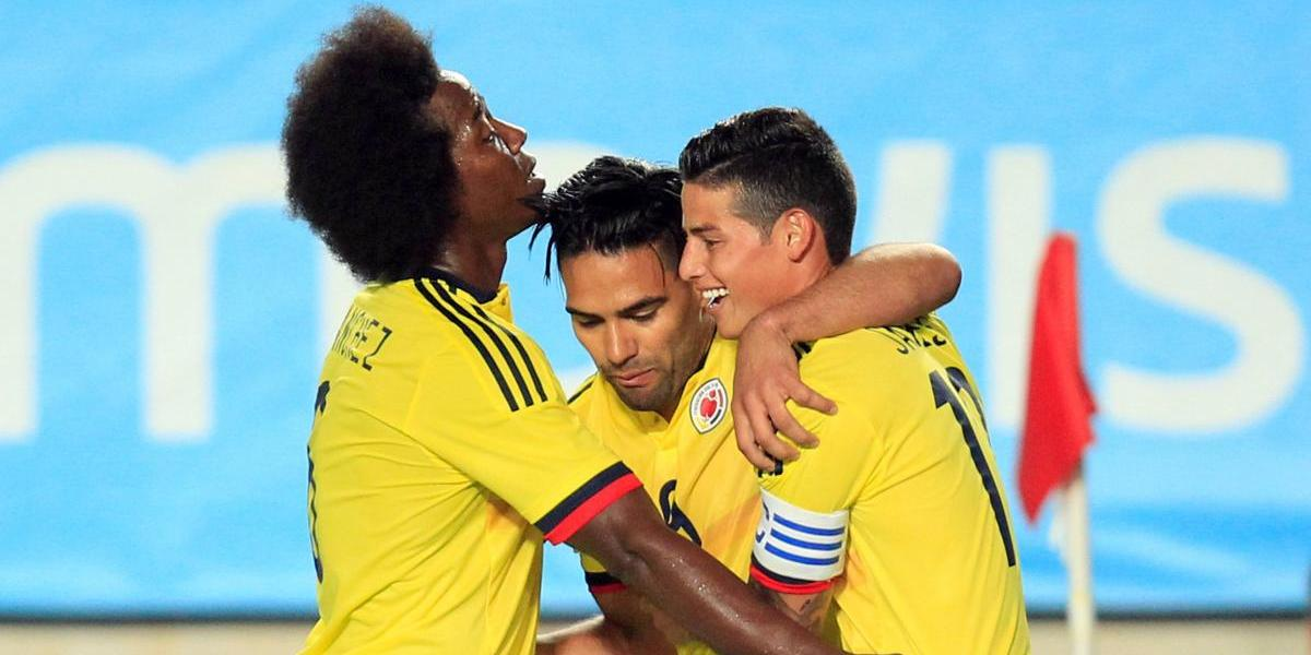 Colombia igualó con España en amistoso que dejó a Falcao como goleador histórico de su selección