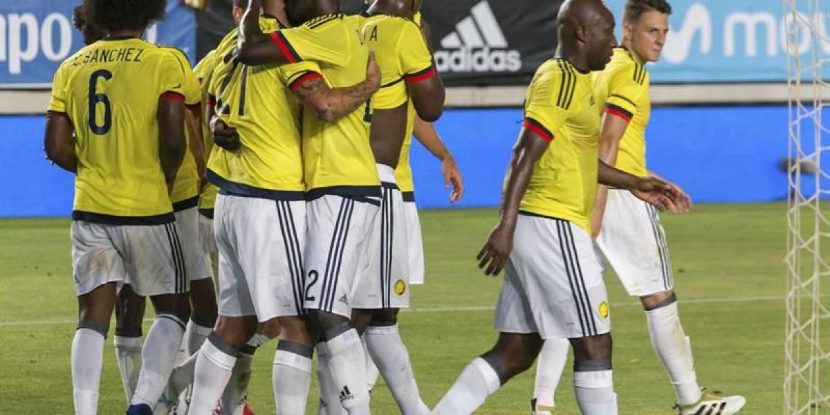 Con estos jugadores actuará Colombia contra Camerún