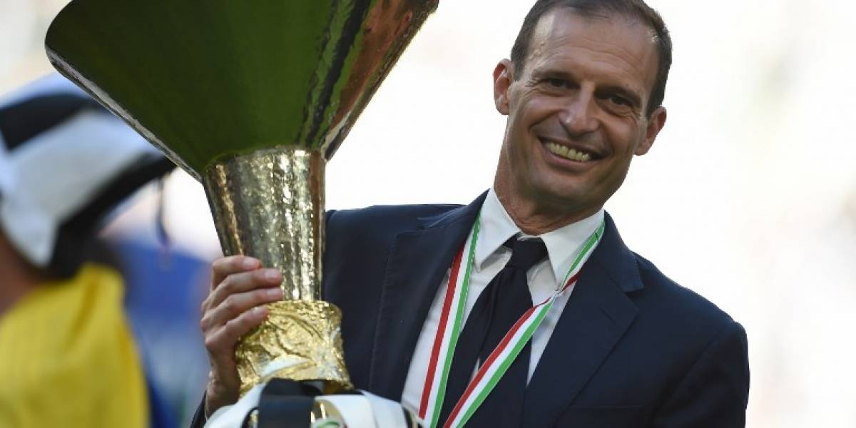 Allegri renueva con la Juventus hasta 2020