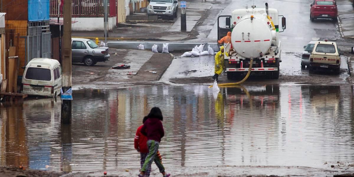 Codelco suspendió operaciones mineras en cuatro yacimientos de Antofagasta por el mal tiempo