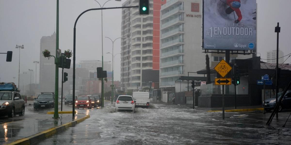 Se cancela alerta roja para la provincia de Antofagasta por sistema frontal