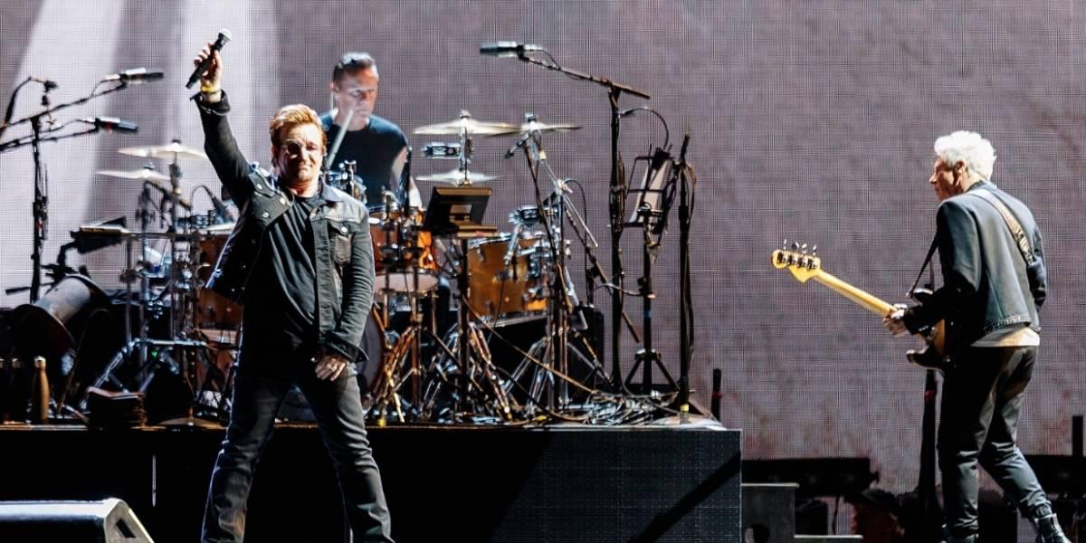 Con este video Bogotá le da la bienvenida a U2