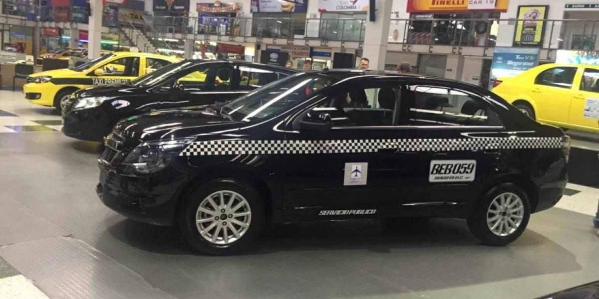 Así serán los taxis de lujo que rodarán por Bogotá