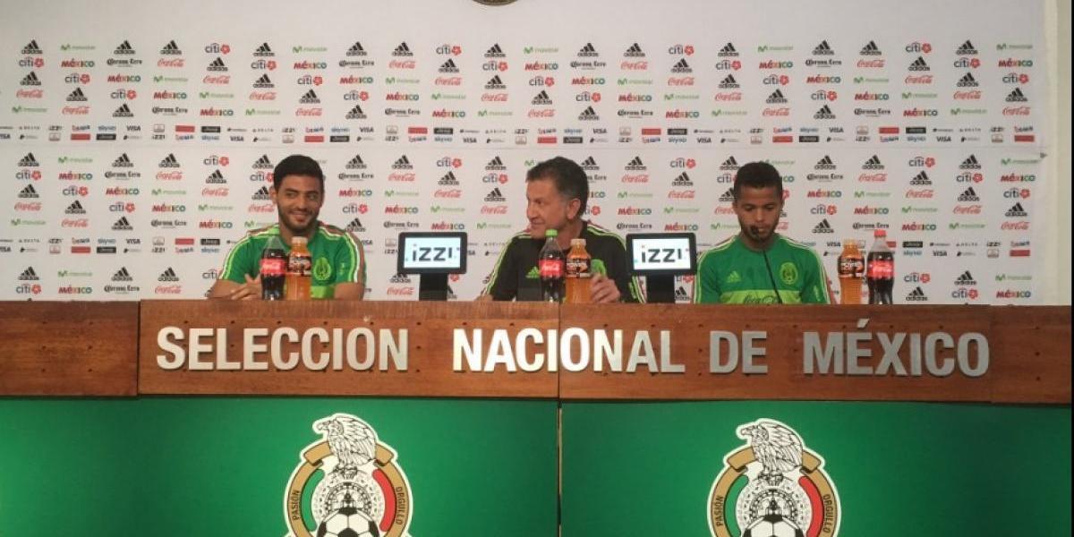 Un maduro y centrado Carlos Vela reaparece en conferencia del Tricolor