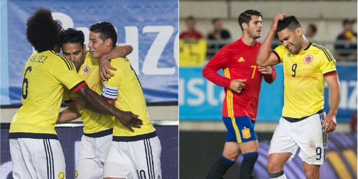 5 cosas buenas y 5 malas que dejó el empate 2-2 entre Colombia y España