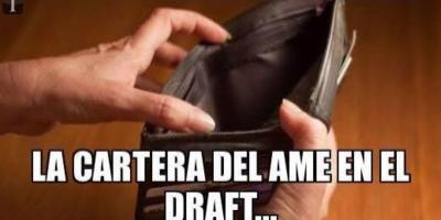 Los mejores memes del draft