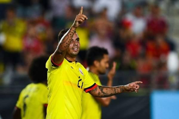 Edwin Cardona por gestos en el amistoso Colombia VS Corea