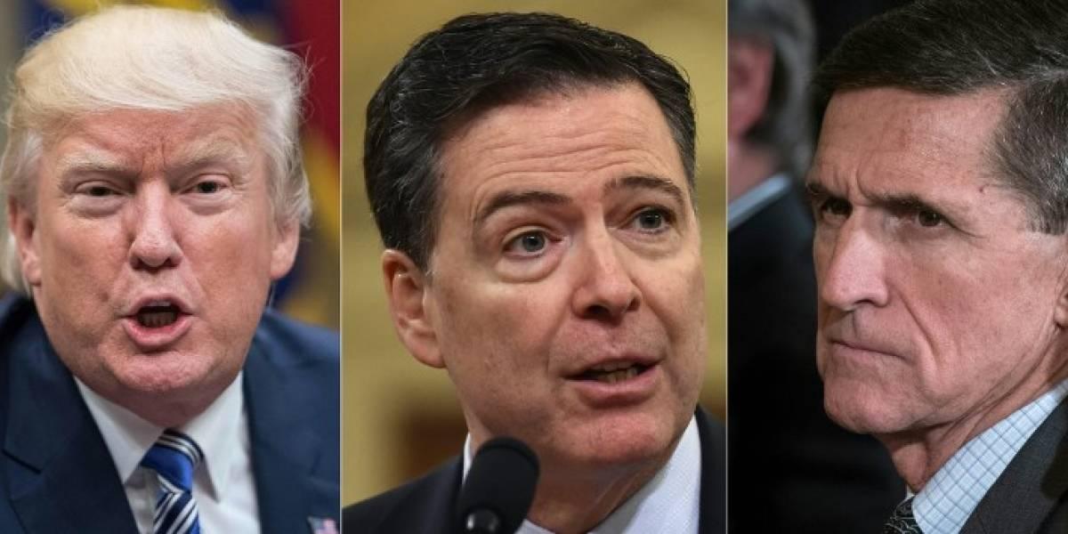 """Ex director del FBI asegura que Trump le pidió """"lealtad"""" y que abandonara investigación de Flynn"""