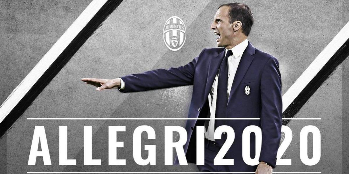 Massimiliano Allegri renueva con la Juventus tras el golpe de la Champions League