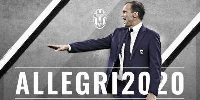 Massimiliano Allegri renovó con la Juventus hasta 2020