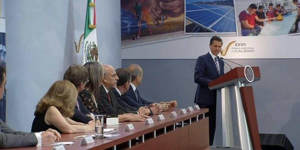 Este sexenio ha sido el mejor en creación de empleos, asegura Peña Nieto