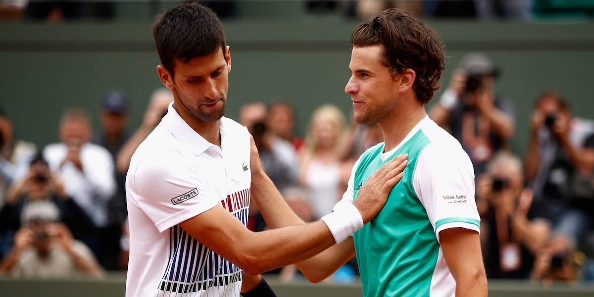 Fracaso de Djokovic y Thiem se medirá a Nadal en semifinales de Roland Garros
