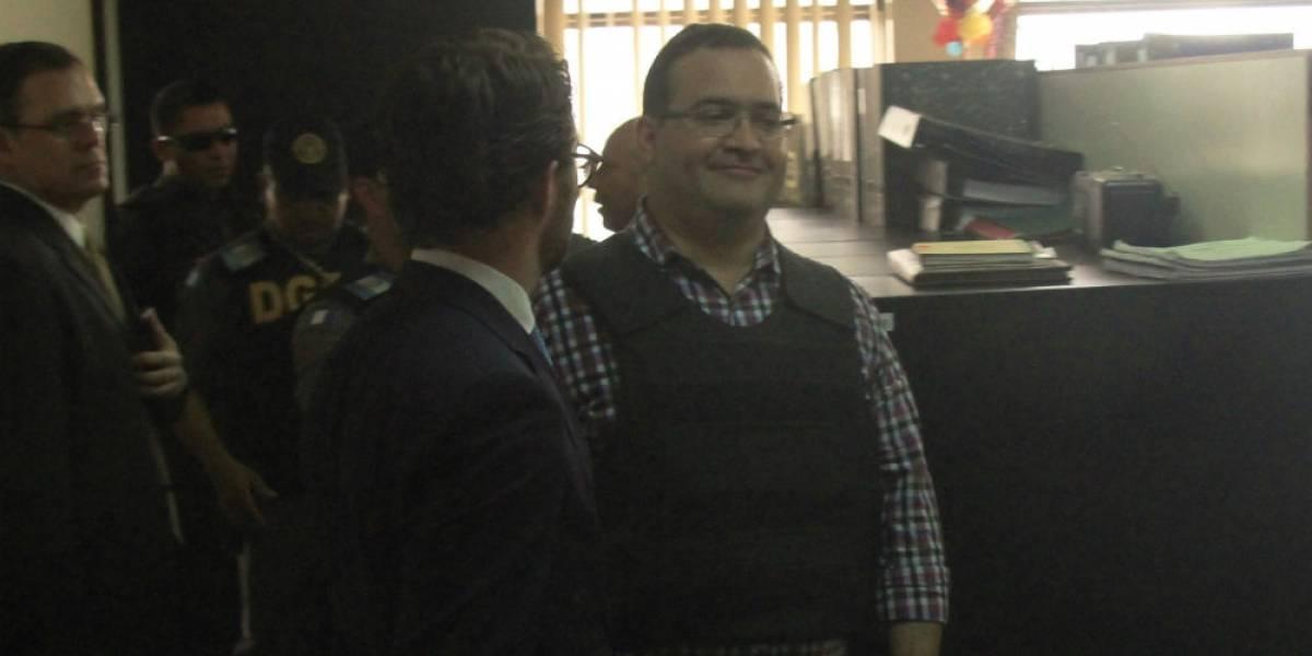 Guatemala recibe solicitud formal para extradición de Javier Duarte