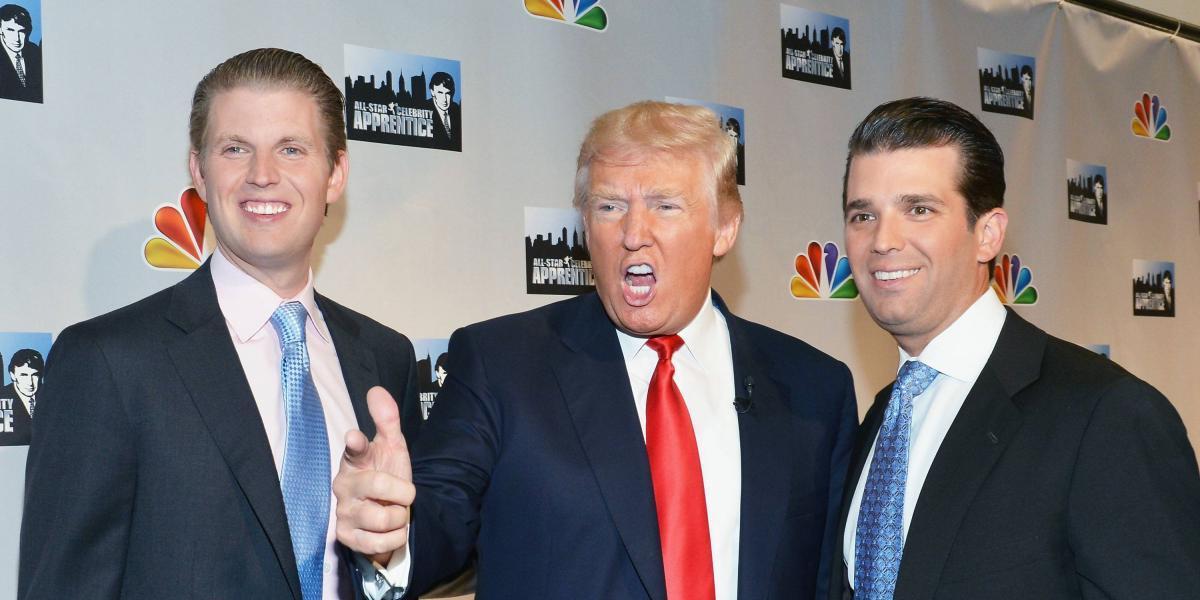 Hijo de Trump desvió recursos de fundación contra el cáncer para su padre: Forbes