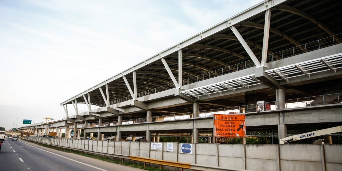 Trem para o Aeroporto de Guarulhos terá horário ampliado a partir de segunda-feira