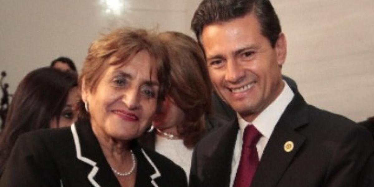 Magistrados se fotografían con presidente mexicano Enrique Peña Nieto