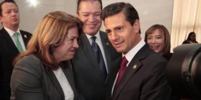 Magistrados con Enrique Peña Nieto