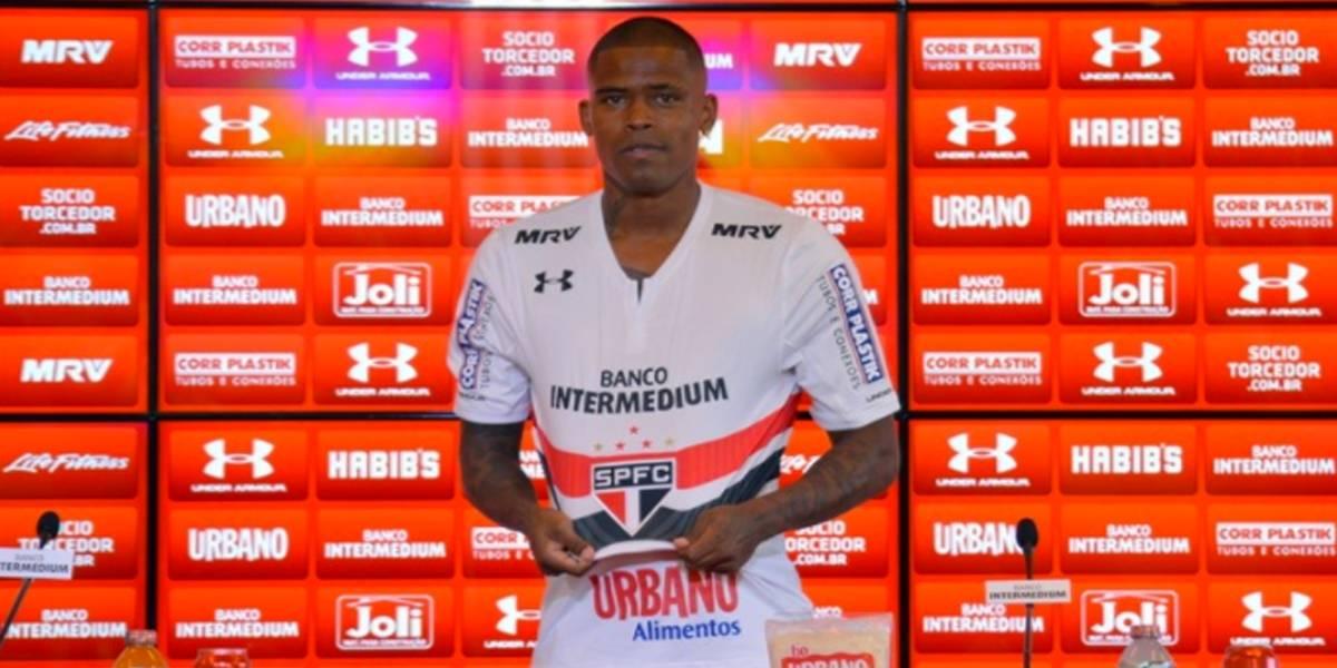 Maicosuel está fora dos planos do São Paulo