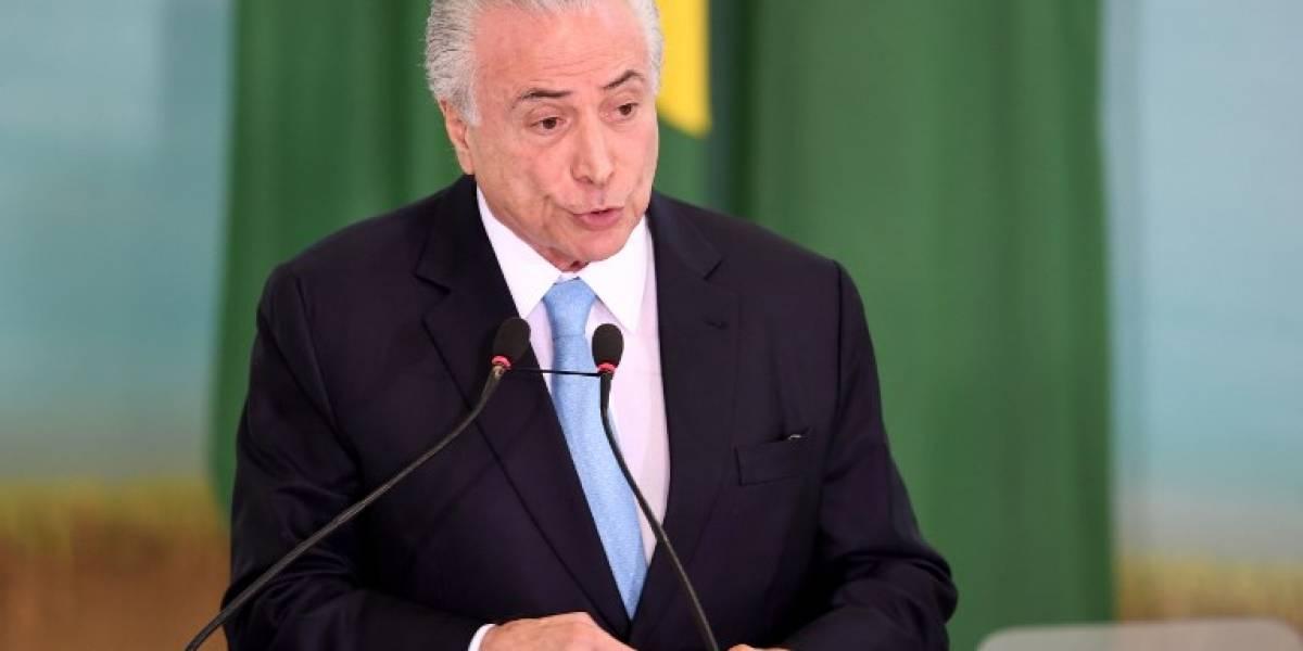 Temer asegura que seguirá en el poder, mientras corte brasileña debate su destino