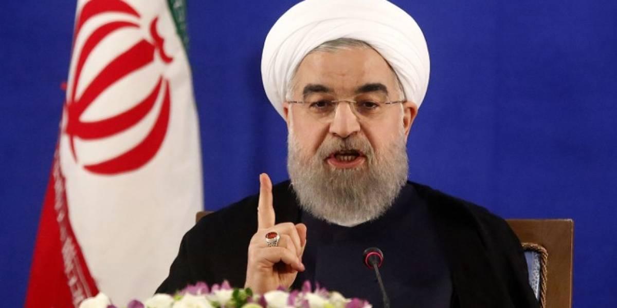 Presidente iraní envía un contundente mensaje tras los atentados