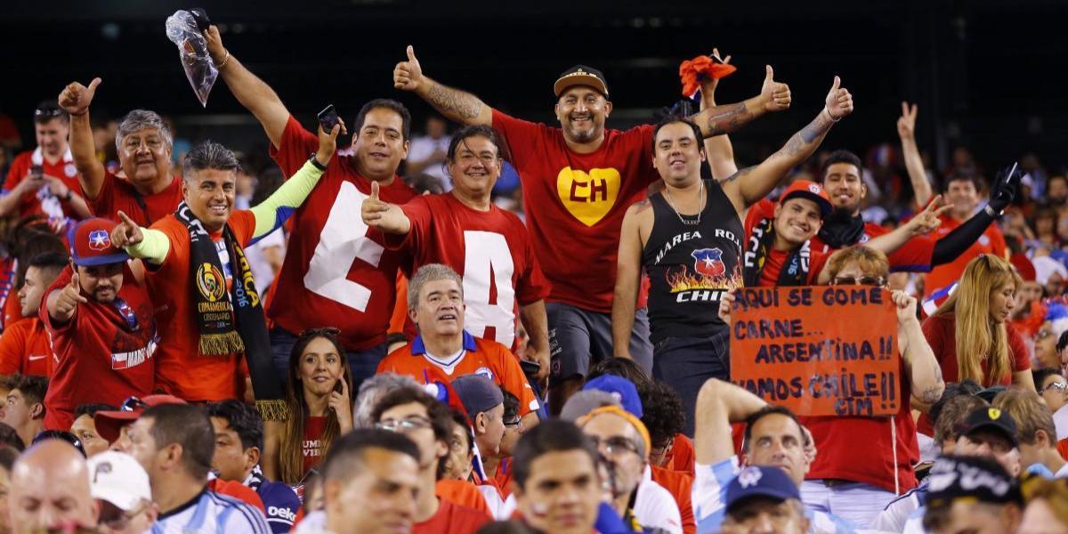Esperan a la Marea Roja: Chilenos podrán entrar gratis al amistoso con Rusia